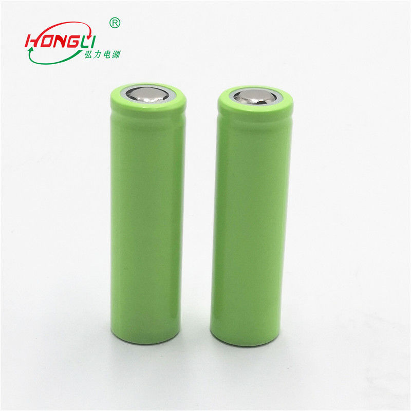 17G Lithium Ion Battery 3.7V 500mAh For Flashlight / 14500 Rechargeable Batteries