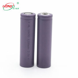 Chine batterie rechargeable d'ion de 18650 1200mAh Li 3,7 volts de BRI MSDS UN38.3 usine